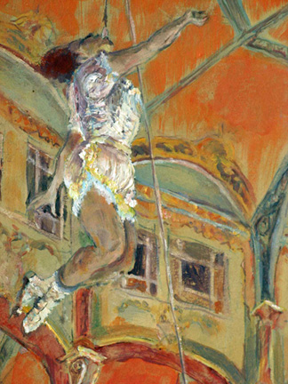 Edgar Degas (1834-1917) Miss La La at the Cirque Fernando